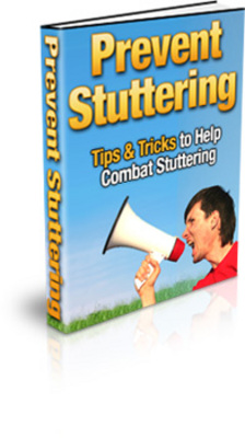 Product picture Prevent Stuttering Speech-Tips & Tricks To Combat Sttutering